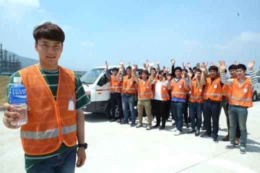 동아오츠카, '장마철 대비' 배송사원 안전운행 교육 실시
