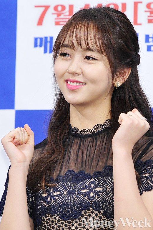 [MW사진] 싸우자 귀신아 김소현, '두 주먹 불끈 쥐고'