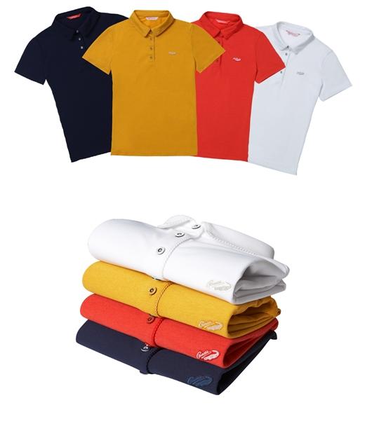 크로커다일레이디, 여름철 기능성 피케 티셔츠 2종 출시