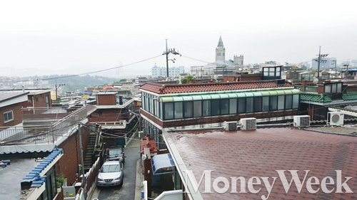 용산구 해방촌 전경. /사진=김창성 기자