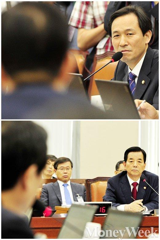 """[MW사진] 더민주 우상호, """"NPC서 사드배치 주변국 마찰 논의했나?"""""""