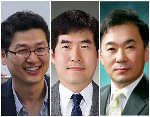왼쪽부터 김재준 포스텍 교수, 이상민 한국전기연구원 박사, 김도향 연세대 교수. /사진=삼성
