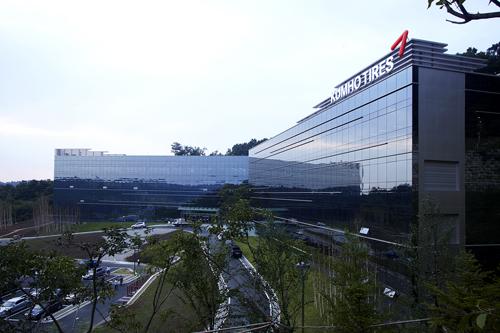 금호타이어 용인 중앙연구소. /사진제공=금호타이어