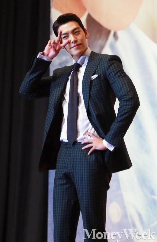 ▲ 함부로 애틋하게 제작발표회에 참석한 김우빈/사진=머니투데이 김창현 기자