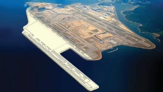 홍콩 첵랍콕 국제공항 지반개량 공사 조감도. /사진=삼성물산