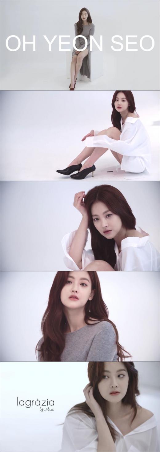 오연서, 화보 메이킹 영상 공개…오블리 매력 뽐내