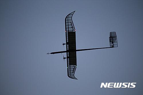 성층권 비행 성공. 사진은 성층권 비행에 성공한 국산 태양광 무인기 EAV-3. /자료사진=뉴시스(한국항공우주연구원 제공)