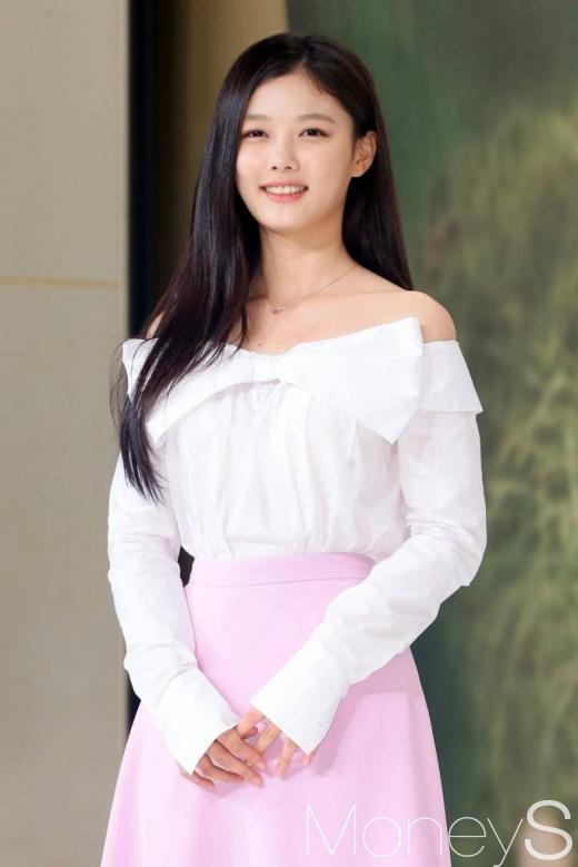 ▲'구르미 그린 달빛' 제작발표회에 참석한 김유정/사진=머니투데이 이기범 기자