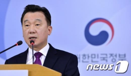 정준희 통일부 대변인. /자료사진=뉴스1