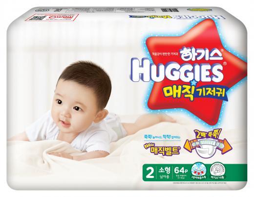 유한킴벌리, 2016년형 하기스 매직기저귀 출시