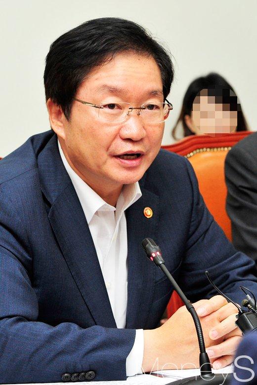 [머니S포토] 모두발언 김영석 해양수산부 장관