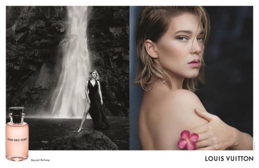 루이 비통, 레아 세이두와 함께한 향수 컬렉션 캠페인 공개
