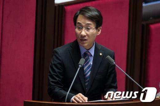 이원욱 의원. 더민주 신임 전략기획위원장. /사진=뉴시스