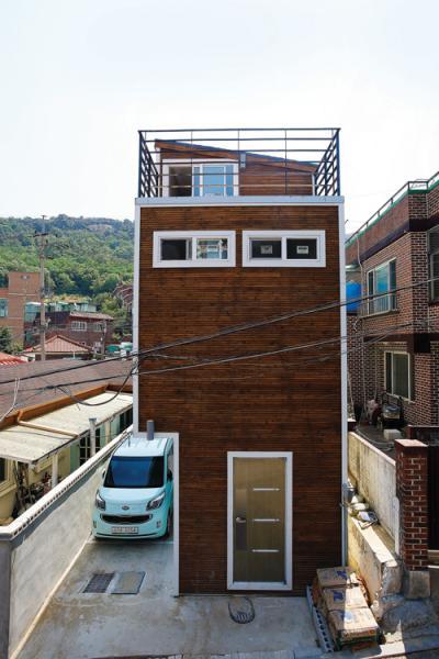 홍제동 협소주택. /사진제공=마음담은건축
