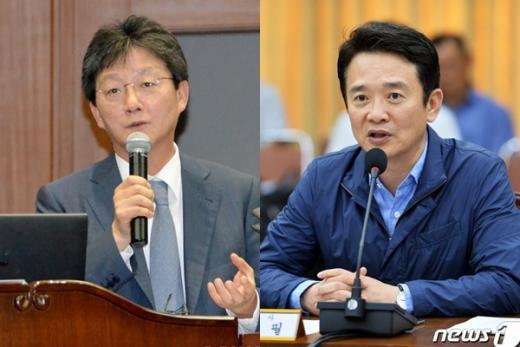 유승민(왼쪽) 남경필. /자료사진=뉴스1