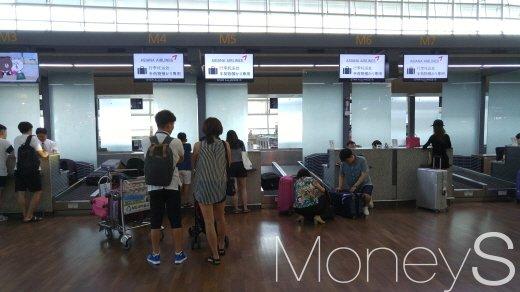 인천공항 체크인 카운터 /사진=박찬규 기자