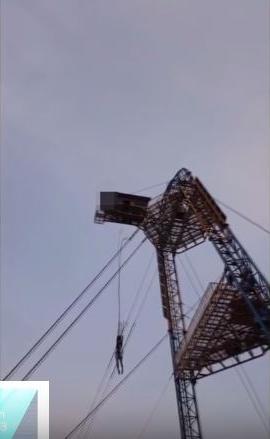 번지점프. /사진=유튜브 영상 캡처