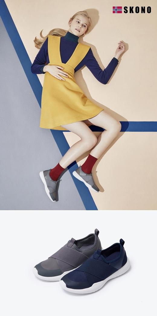 스코노, '뉴레볼루션 X' 출시…경쾌한 착화감