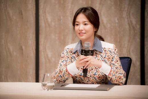 배우 송혜교. /사진=뉴시스 DB