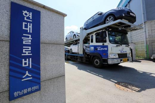 경기도 화성시 향남읍 소재 현대글로비스 향남물류센터. /사진=머니투데이(현대글로비스 제공)