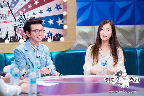 라디오스타. 왼쪽부터 김국진, 강수지. /자료사진=MBC '황금어장 라디오스타' 홈페이지