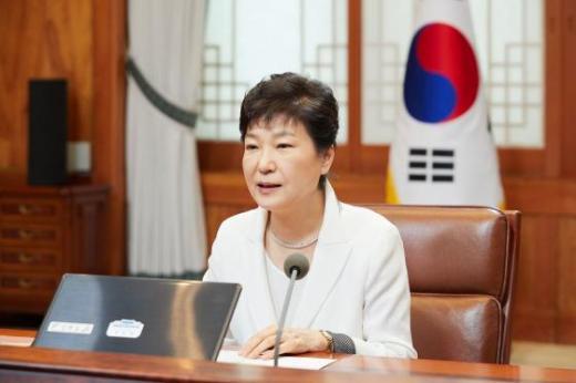 박근혜 대통령. /사진=청와대