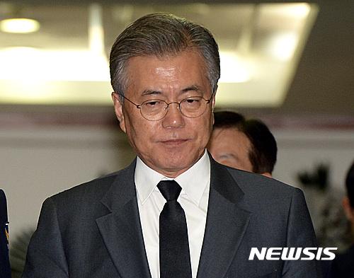 송민순 문재인. 사진은 문재인 전 민주당 대표. /자료사진=뉴시스