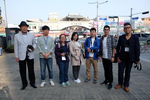 지동시장을 방문한 중국파워미디어