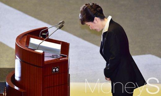 박근혜 대통령 지지율. /사진=임한별 기자