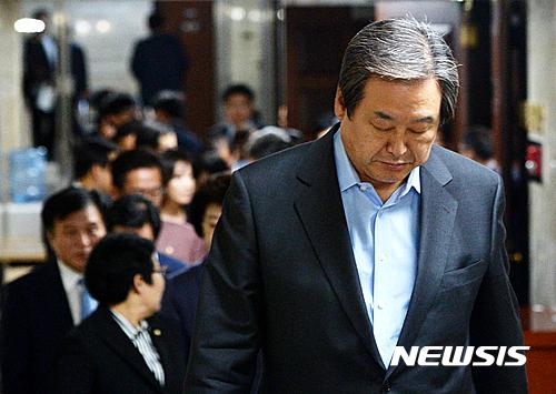 세계일보 최순실 인터뷰. 김무성 새누리당 전 대표. /자료사진=뉴시스
