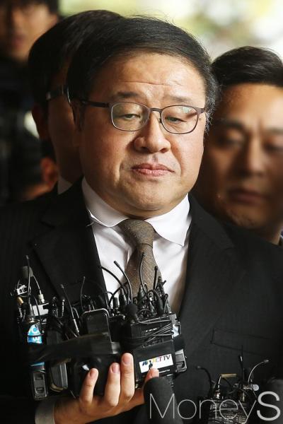 안종범 긴급체포. /자료사진=임한별 기자