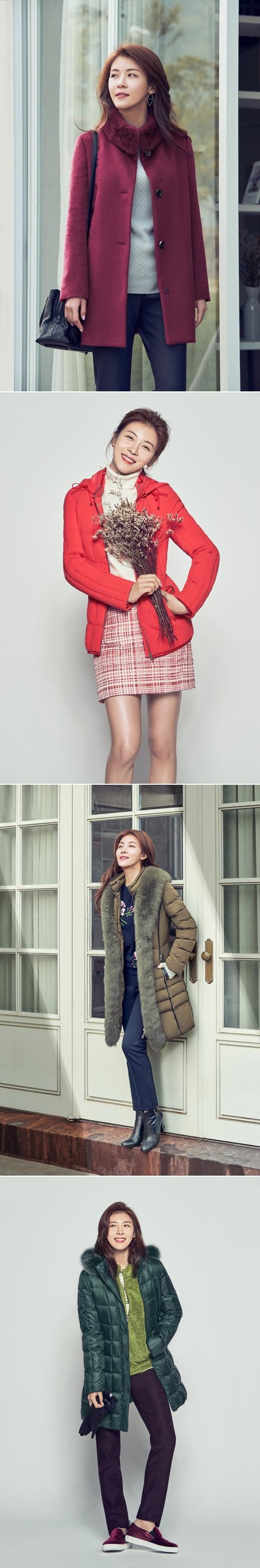 크로커다일레이디, 하지원 2016 겨울화보 공개