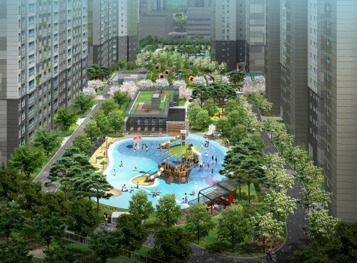 '동문굿모닝힐 맘시티' 실수요자 증가, 쾌적한 주거환경 갖춘 아파트