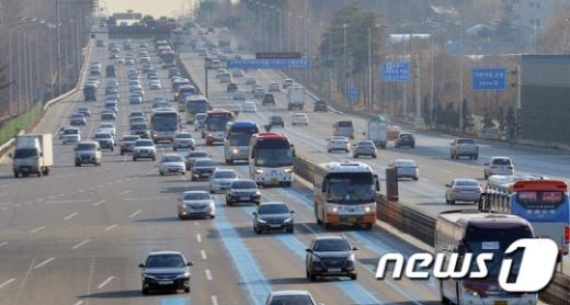 고속도로 교통상황. /사진=뉴스1 © News1