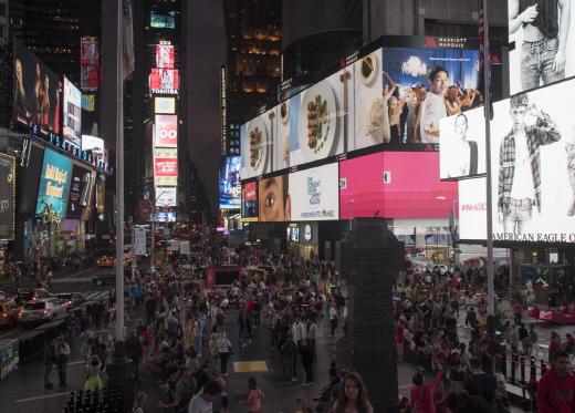 뉴욕 타임스퀘어 /사진=뉴스1 추연화 기자