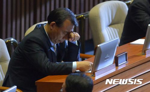 한국갤럽. 정당지지도. 이정현 새누리당 대표. /자료사진=뉴시스