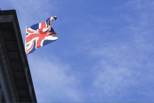 냉동 보존. 사진은 영국 국기. /사진=이미지투데이