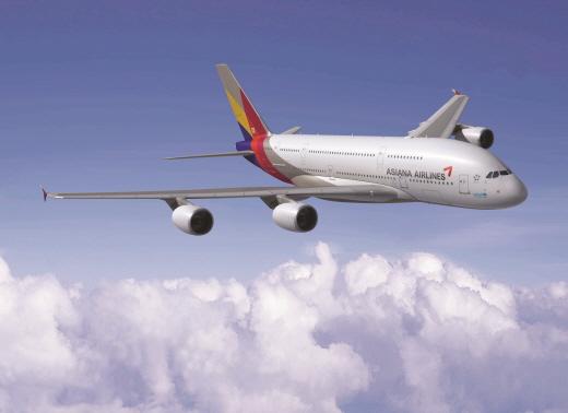 아시아나항공 A380 /사진=아시아나항공 제공