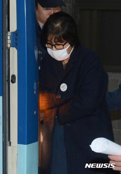 김영재 의원. 프로포폴. 지난 11일 구치소로 향하는 최순실씨. /자료사진=뉴시스