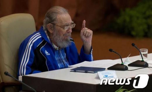 피델 카스트로 전 쿠바 국가평의회 의장/사진=뉴스1