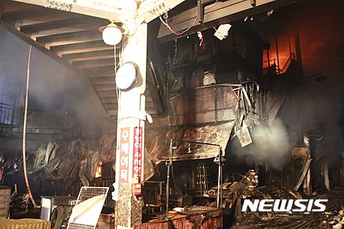 대구 서문시장 화재. 30일 오전 대구 서문시장에 화재가 발생해 점포 500여개가 전소됐다. /사진=뉴시스