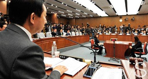 """[3차 청문회] 김상만 """"박근혜 대통령, 2012년 초에 알았다"""""""