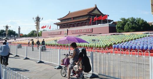 중국 텐안먼광장. 사진=뉴시스 DB