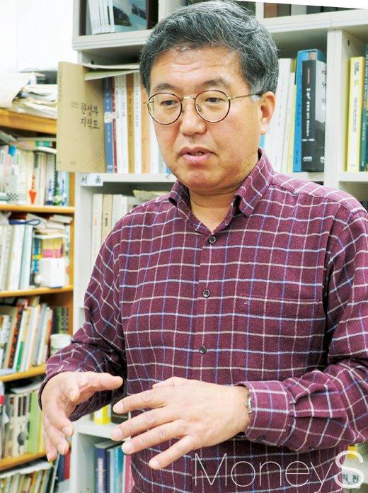 황평우 한국문화유산정책연구소장. /사진=서대웅 기자