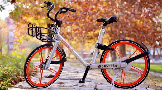 중국 공유 자전거의 한 시스템인 '모바이크'의 자전거. /사진=모바이크 홈페이지