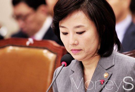 """[7차 청문회] 이혜훈 의원 """"조윤선 장관, 거짓말 스스로 인정… 불출석 사유 말 안 돼"""""""