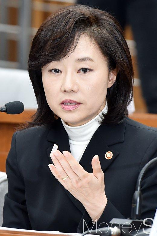 """[머니S포토] 7차 청문회 조윤선, """"블랙리스트 본적 없어"""""""