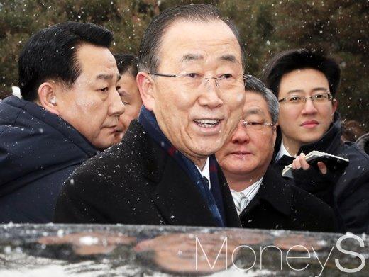 반기문 박연차. 사진은 반기문 전 유엔 사무총장. /사진=임한별 기자