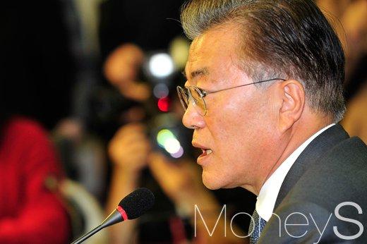 문재인 일자리. 사진은 문재인 전 민주당 대표. /사진=임한별 기자