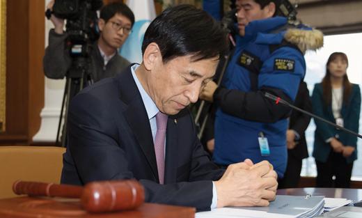 고심하는 이주열 한국은행 총재. /사진=뉴스1 DB